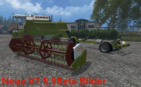 Claas Dominator 86 v1.5.5B