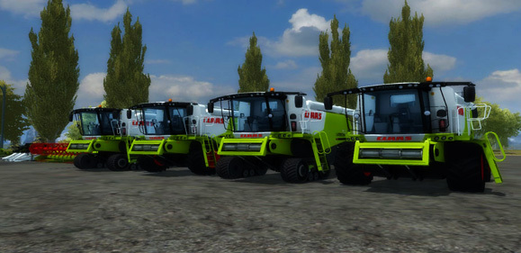 Claas Lexion 7 Series Mega Pack More Realistic