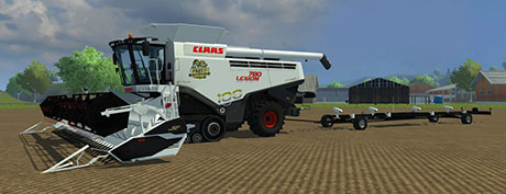 Claas Lexion 780 Limited Edition Pack Multifruit