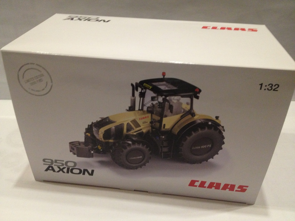 Wiking 132 Claas 950 Axion Taxi Sondermodell Limited
