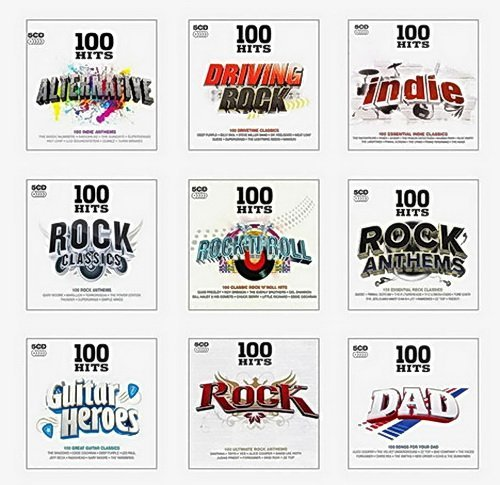 VA - 100 Hits - Rock Collection [45 CD] (2014)