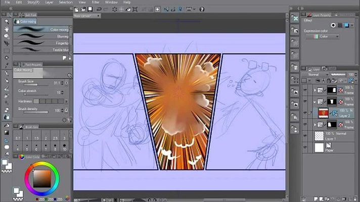 Clip Studio Paint EX v1.6.6 & Materials