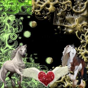 Cluster Frame Horse