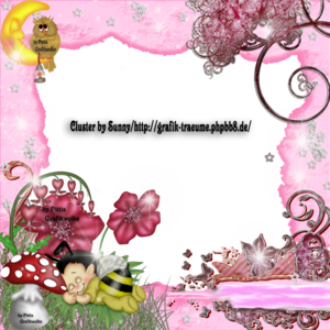 Cluster Frame Pinki