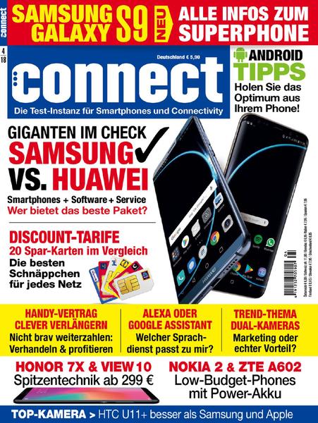Connect Magazin für Telekommunikation April No 04 2018