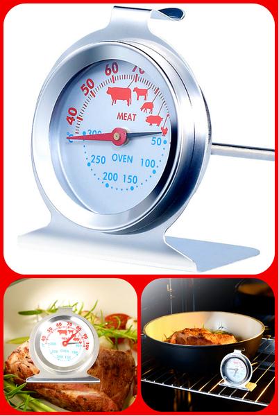 Επώνυμο θερμόμετρο φούρνου και κρέατος 2 σε 1 με 8,99 €