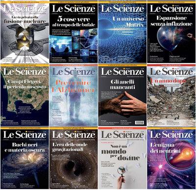 Le Scienze - Collezione Completa Anno 2017