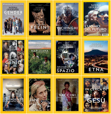 National Geographic Italia - Collezione Completa Anno 2017
