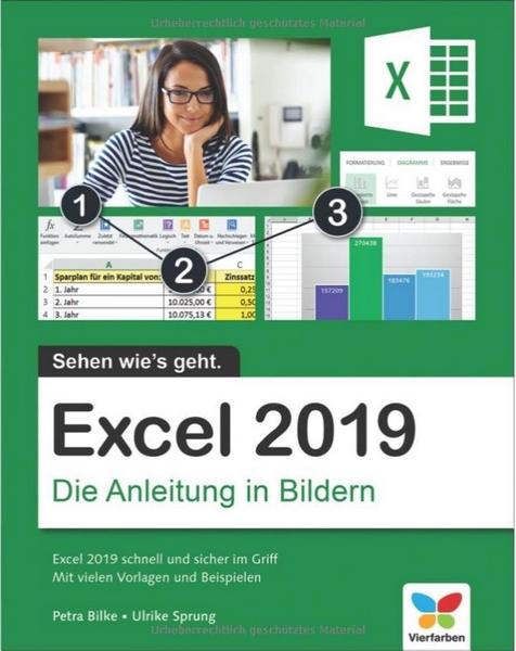Excel 2019- Die Anleitung in Bildern