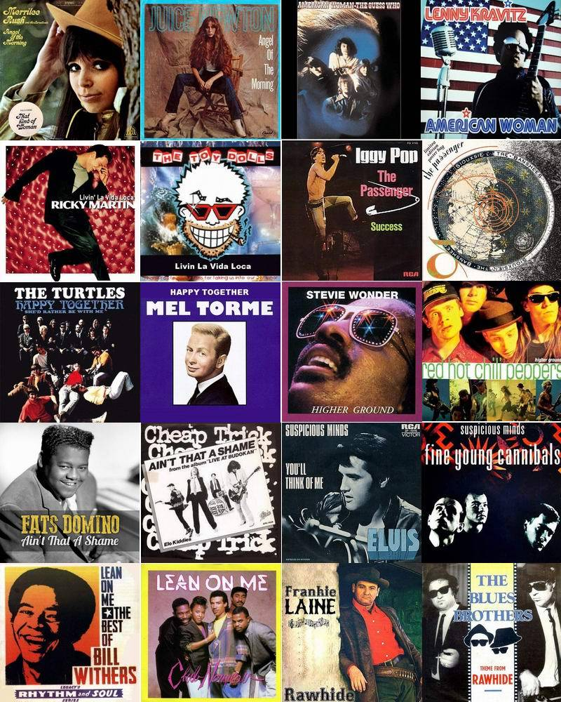Top 100 Cover Songs (Originale und Cover Versionen) (2016)