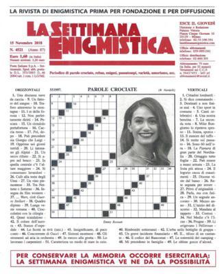 La Settimana Enigmistica N.4521 - 15 Novembre 2018