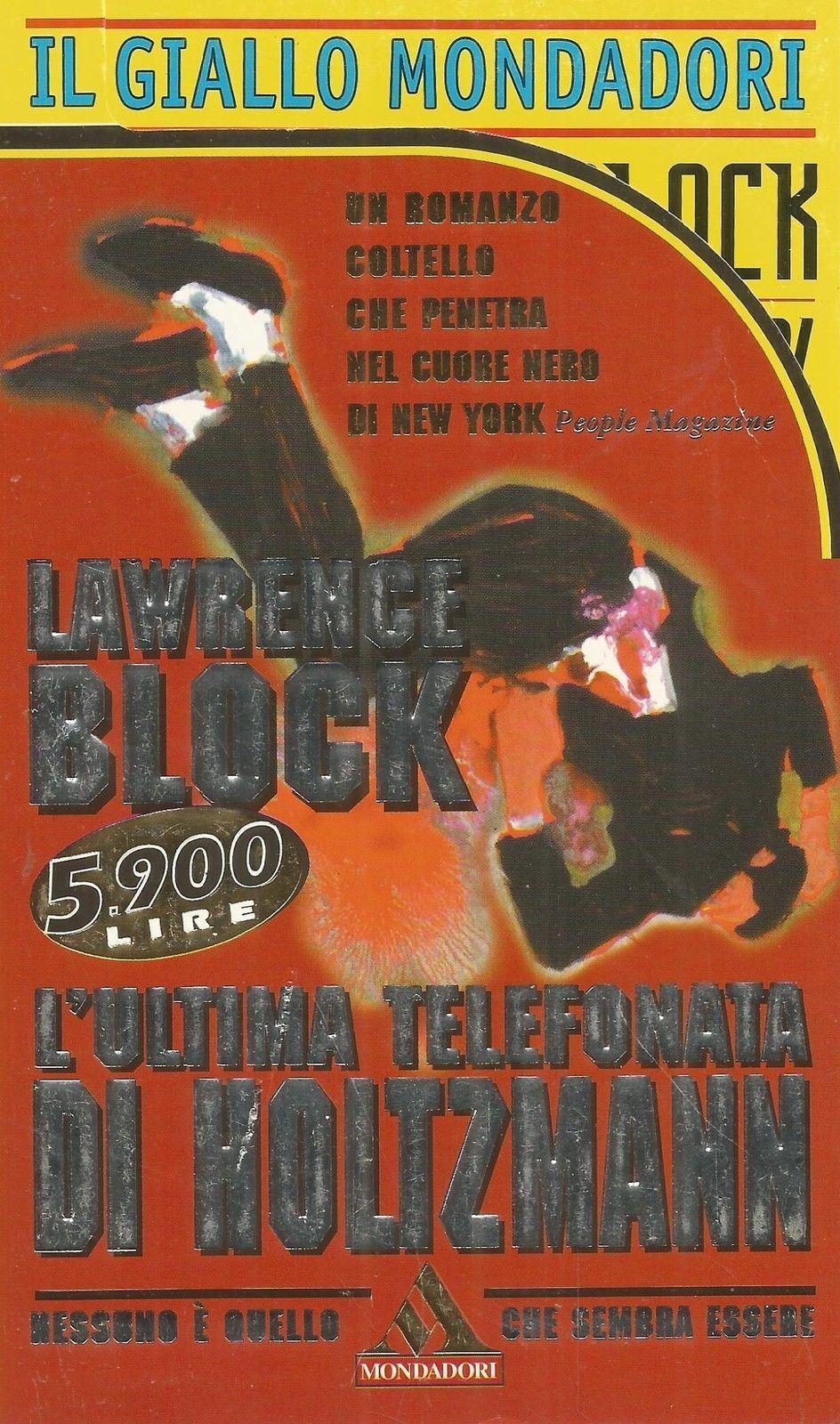 Lawrence Block - L'ultima telefonata di Holtzman (1996)