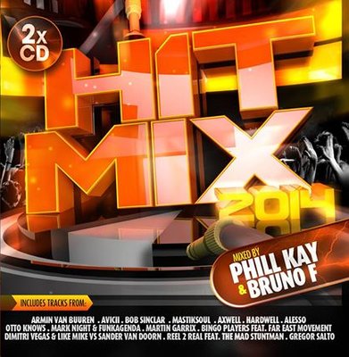 VA – H1T Mix 2014: Mixed by Phill Kay & Bruno F [2CD] (2013)-JHDSP