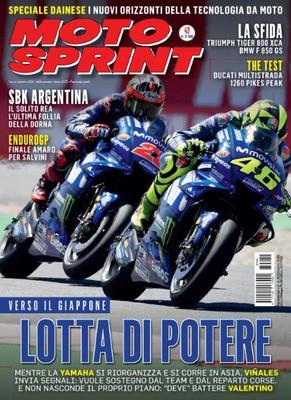 Moto Sprint N.42 - 16 Ottobre 2018