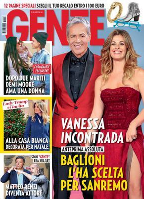 Gente Italia N.50 - 15 Dicembre 2018
