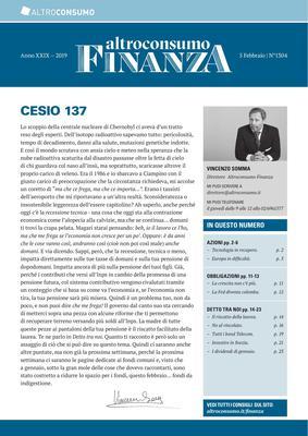 Altroconsumo Finanza N.1304 - 5 Febbraio 2019