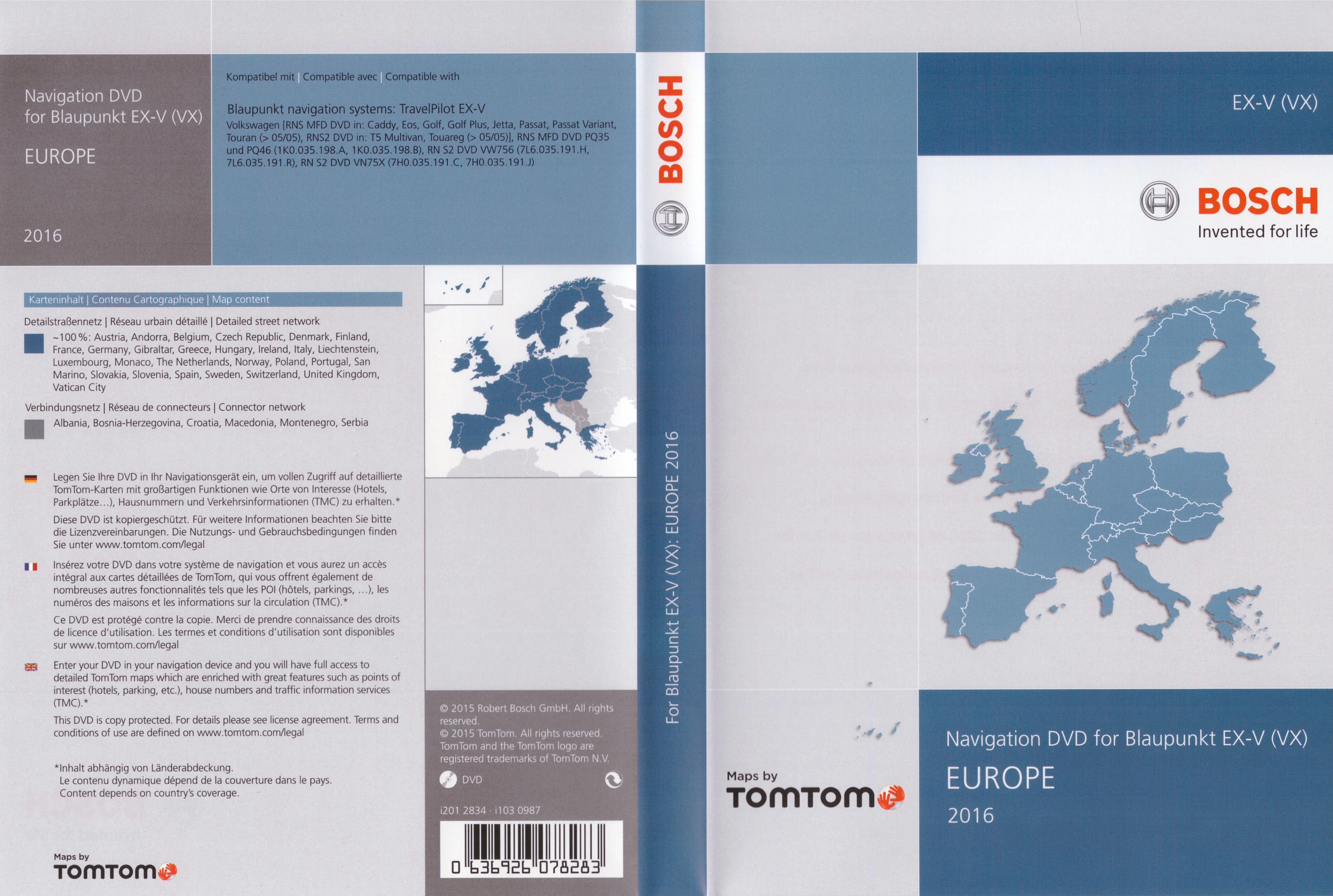 volkswagen navigation mfd2 rn s2 dvd for blaupunkt ex v. Black Bedroom Furniture Sets. Home Design Ideas