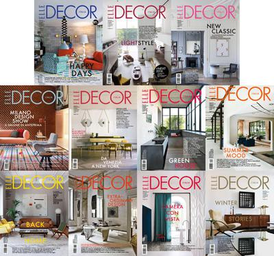 Elle Decor Italia - 2016 Full Year Issues Collection