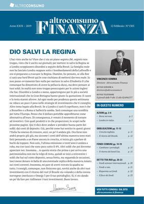 Altroconsumo Finanza N.1305 - 12 Febbraio 2019