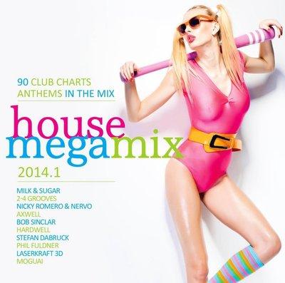 VA - House Megamix 2014.1 [2CD] (2014) .mp3 - 248kbps