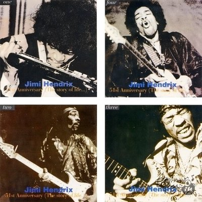 Jimi Hendrix - 51st Anniversary: The Story Of Life [8CD] (1993) .mp3 - 320kbps