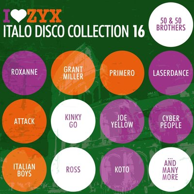 VA - I Love ZYX Italo Disco Collection Vol.16 [3CD] (2013) .mp3 - 320kbps