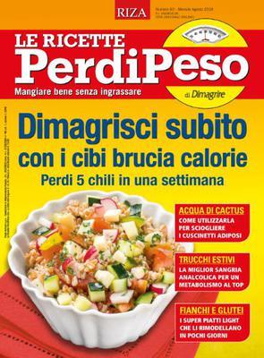 Le Ricette PerdiPeso - Agosto 2018