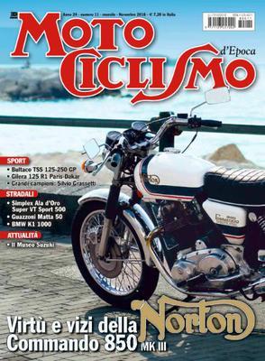 Motociclismo d'Epoca - Novembre 2018