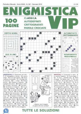 Enigmistica VIP N.367 - Gennaio 2019