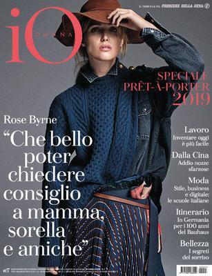 Io Donna del Corriere della Sera N.7 – 16 Febbraio 2019