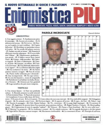 Enigmistica PIU N.49 - 12 Dicembre 2018