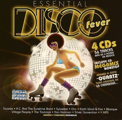 VA - Essential Disco Fever [4CD] (2007) .mp3 - 320kbps