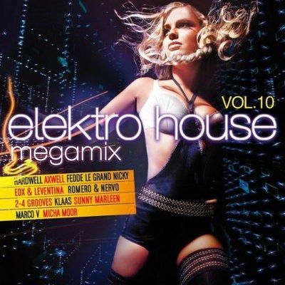 VA - Elektro House Megamix Vol.10 [2CD] (2014) .mp3 - V0
