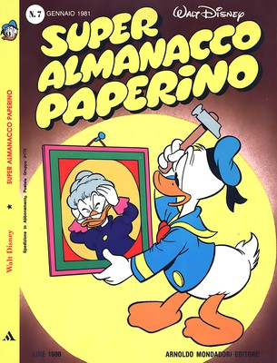 Super Almanacco Paperino - Serie 2 - N.7 (1981)