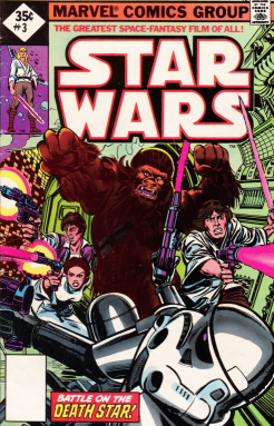Cover for Marvel's 1977 Star Wars #3