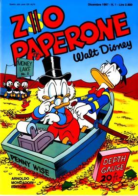 Zio Paperone N.1 (Disney 1987-12)