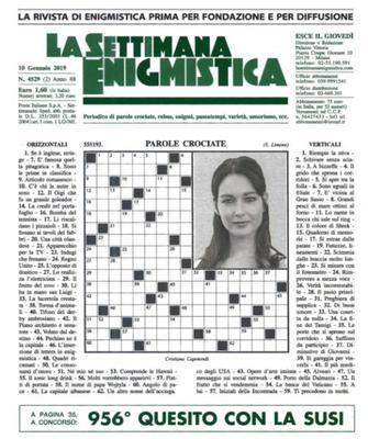 La Settimana Enigmistica N.4529 - 10 Gennaio 2019