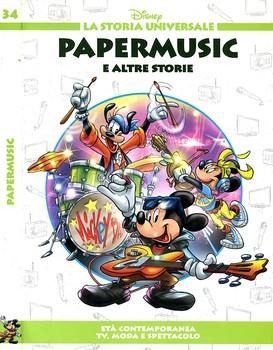 La Storia Universale Disney - Volume 34 - Papermusic (2011)