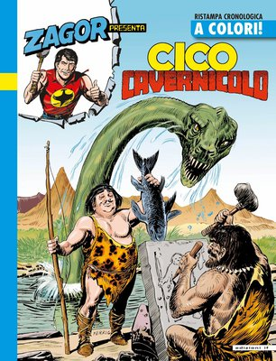 Zagor Presenta Cico a Colori - Volume 9 - Cico cavernicolo (2014)