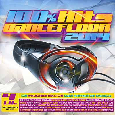 VA - 100% Hits Dancefloor 2014 [4CD] (2013) .mp3 - 320kbps