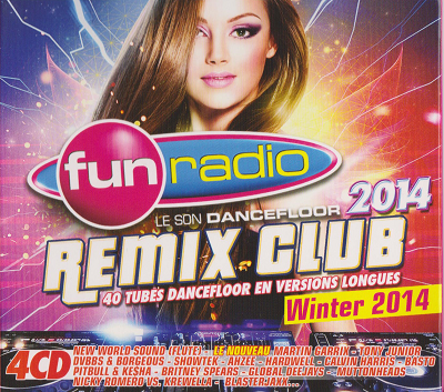 VA - Fun Radio: Remix Club Winter 2014 [4CD] (2014) .mp3 - V0
