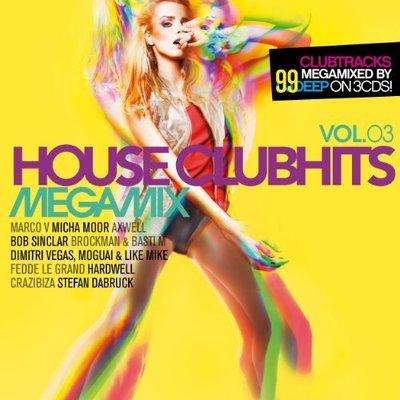 VA - House Clubhits Megamix Vol.03 [3CD] (2014) .mp3 - V0