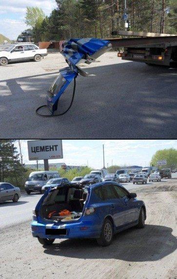 Nietypowe wypadki samochodowe #3 17