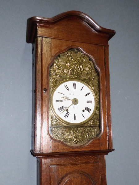 comtoise standuhr antik normandie longcase clock pendule uhrwerk pendeluhr uhr ebay. Black Bedroom Furniture Sets. Home Design Ideas