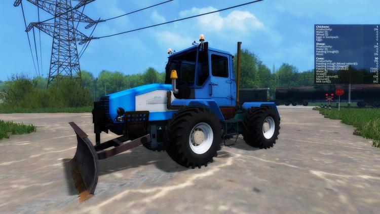CTA 220 Tractor + Blade v1.0