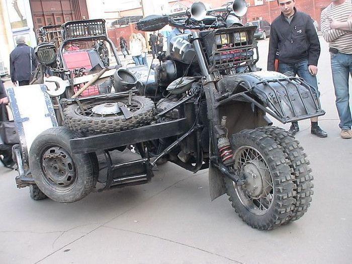 Najdziwniejsze pojazdy #4 50