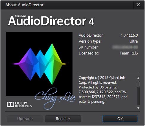 Cyberlink audiodirector ultra 3 0 2321 multilingual patch