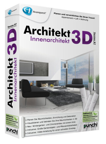 Architekt 3D Innenarchitekt X9