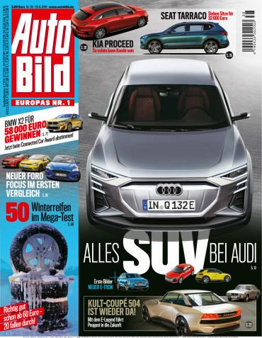 Auto Bild Magazin No 38 vom 20 September 2018