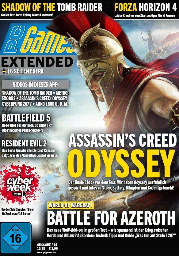 PC Games Magazin Magazin Oktober No 10 2018